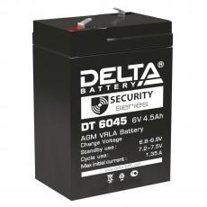 Аккумулятор,DT, 6V-4,5A