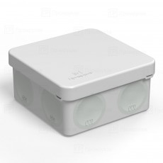 Коробка Распределительная 100*100*50 (с гермовводами)