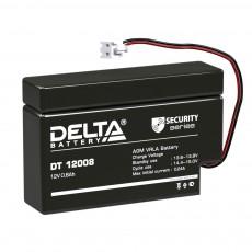 Аккумулятор,DT,12V-0,8