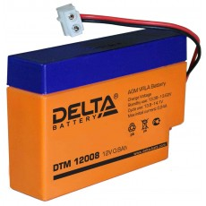 Аккумулятор,DTM,12V-0,8A