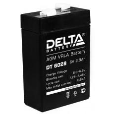 Аккумулятор,DT, 6V-2,8A