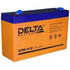 Аккумулятор,DTM, 6V-12A