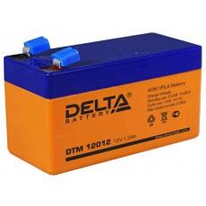Аккумулятор,DTM,12V-1,2A
