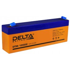 Аккумулятор,DTM,12V-2,2A