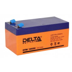 Аккумулятор,DTM,12V-3,2A