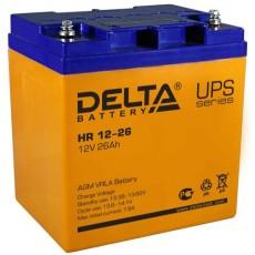 Аккумулятор,HR,12V-26A