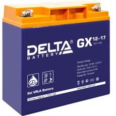 Аккумулятор,GX,12V-17A