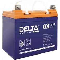 Аккумулятор,GX,12V-33A