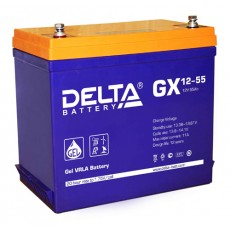 Аккумулятор,GX,12V-55A
