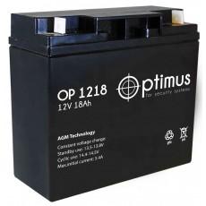 Аккумуляторная батарея ОР 1218 Optimus