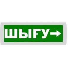 """Табло Янтарь С """"ШЫГУ"""" вправо"""