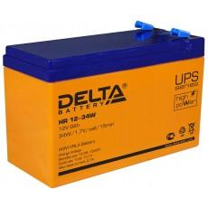 Аккумуляторная батарея HR 12-34 W Delta